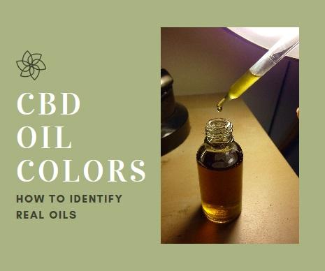 cbd oil colors