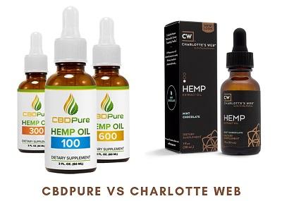 CBDPure vs Charlotte Web