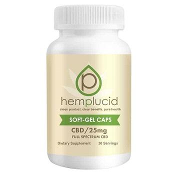 Hemplucid CBD-Gel-Caps-25