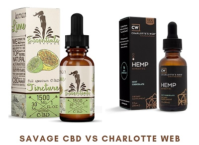 Savage CBD vs Charlotte's Web