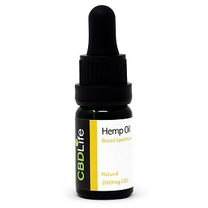 CBD Life UK 2000mg-BS-Hemp-Oil