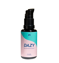 Dazy CBD Infused Personal Lubricant