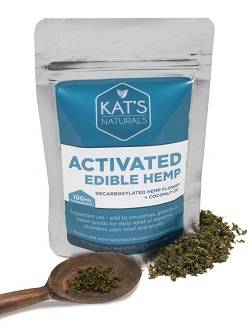 Activated Hemp Flower by Kat's Naturals