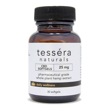 Tessera Naturals CBD Gels
