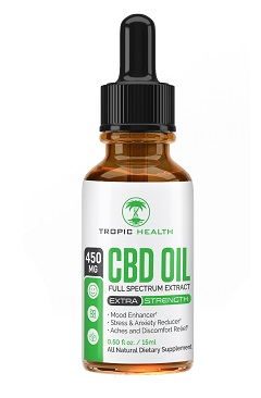 Tropic Health CBD Tincture for cancer