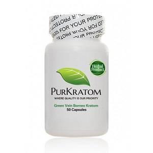 Green Borneo Capsules PurKratom