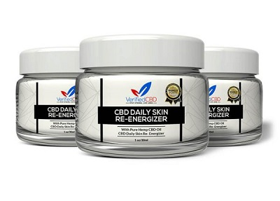 CBD Daily Skin Re-Energizer By Verified CBD