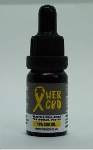 HERCBD Organic CBD Hemp Oil by REBEL ROOTS