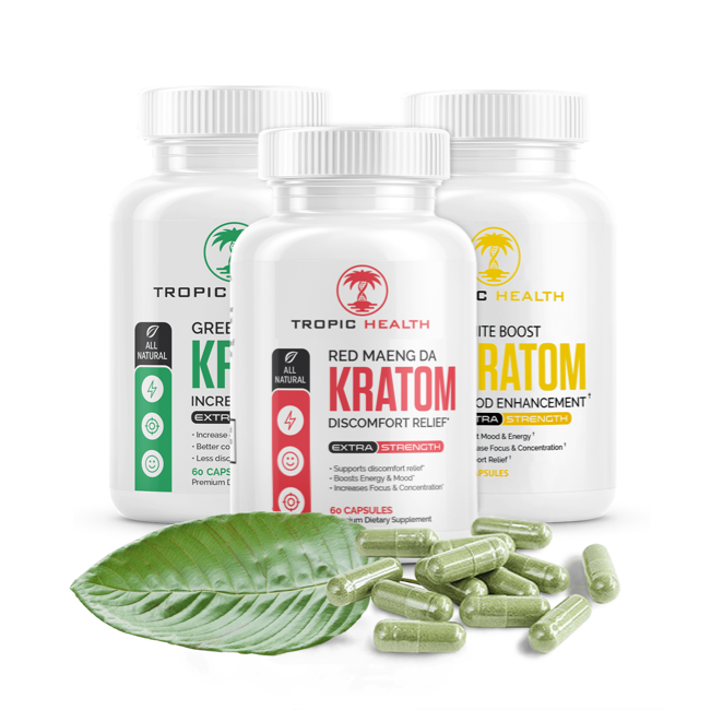Kratom Capsules Tropic Health Club