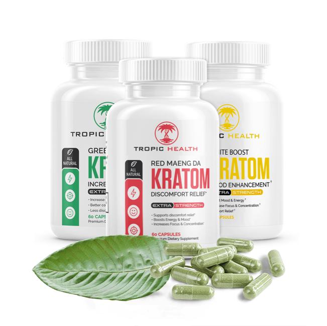 Kratom Capsules Tropic Health Club