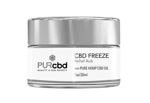 CBD Freeze 50mg by PurCBD