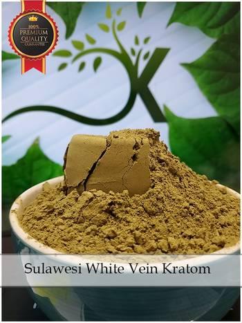 Authentic Kratom Sulawesi White Vein Kratom