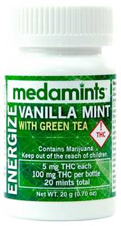 Vanilla Mint Energize by Medamints