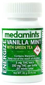 Vanilla Mint Energize by Medamints