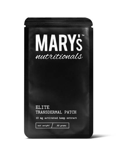 Mary's Nutritionals Elite Transdermal Patch (10mg)