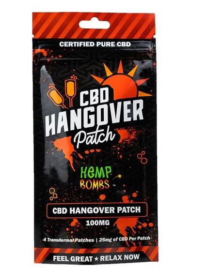 Hemp Bombs CBD Hangover Patch