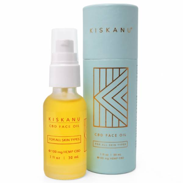 Kiskanu Hemp Face Oil